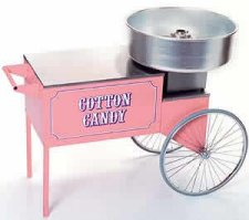 Cotton Candy Machine wCart