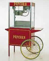 Popcorn Machine wCart