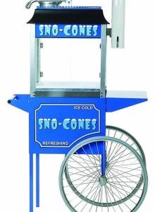 Snow Cone Machine wCart