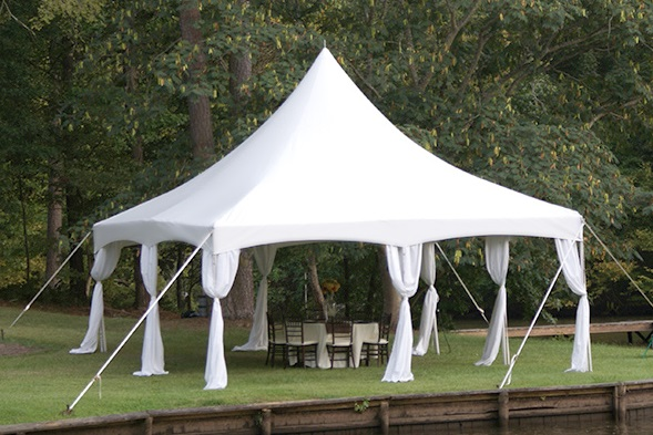 Tent Leg Draping