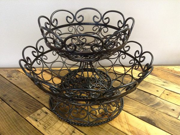 Rustic Wire Baskets