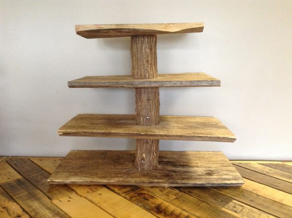 Wooden Cupcake Stand